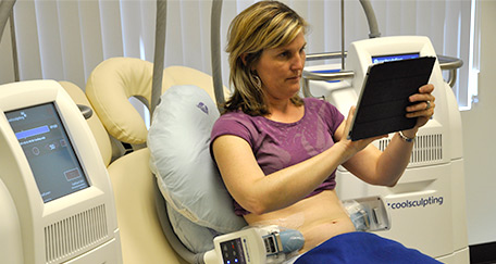 No Downtime with CoolSculpting