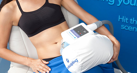 No Surgery needed with CoolSculpting